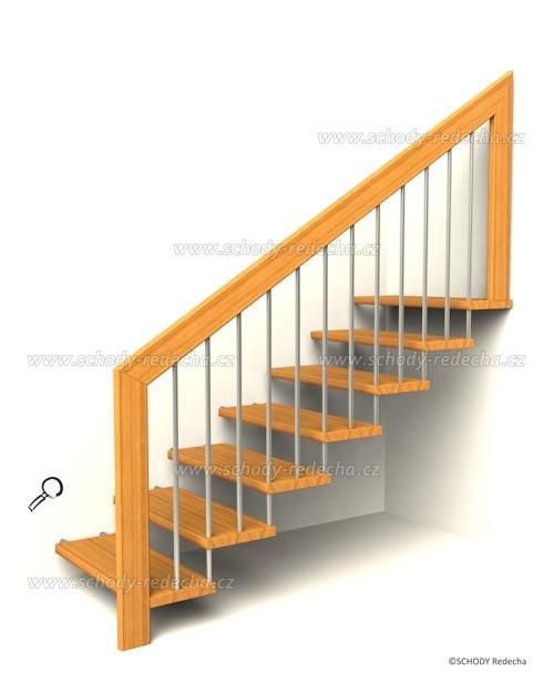 konstrukce schodiste schody IX