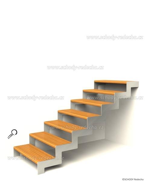 konstrukce schodiste schody V