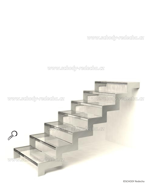 konstrukce schodiste schody VII