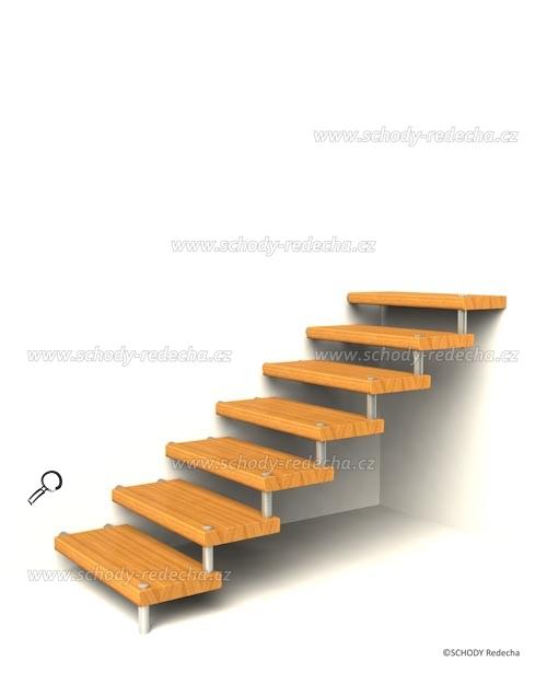 konstrukce schodiste schody VIII