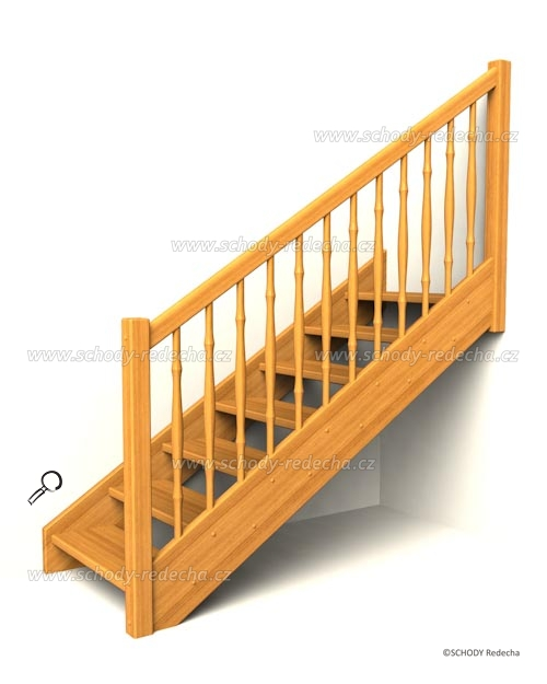 drevene schody IA1