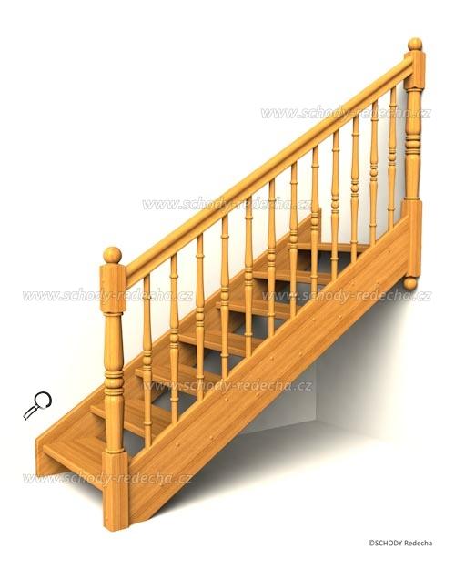 drevene schody IA11