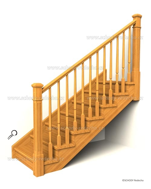 drevene schody IA12