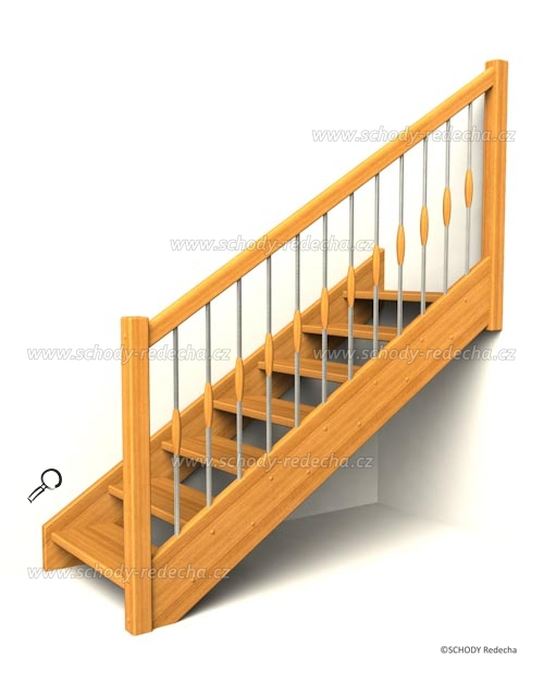 drevene schody IA2
