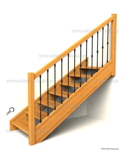 drevene schody IA3