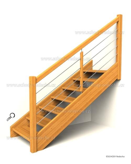 drevene schody IA4