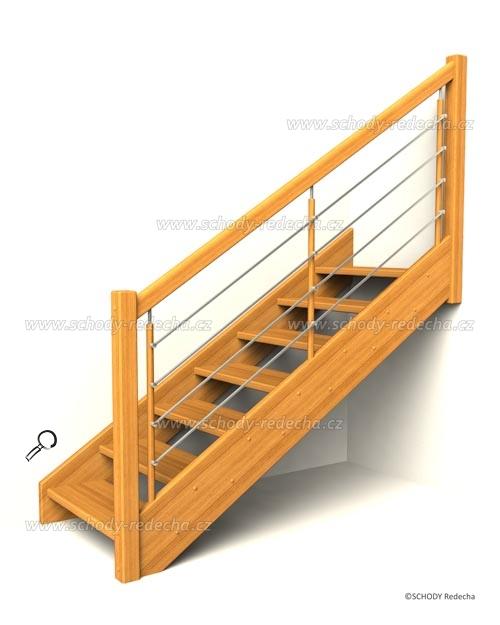 drevene schody IA5