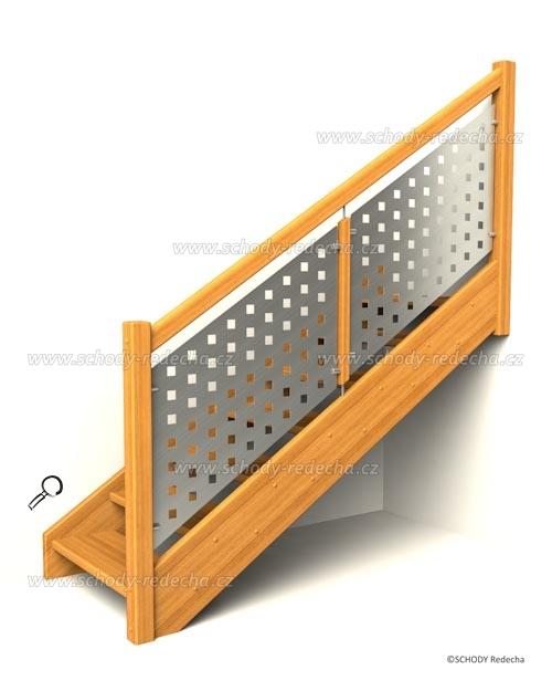 drevene schody IA7