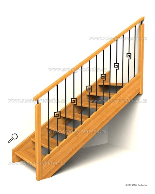 drevene schody IB3