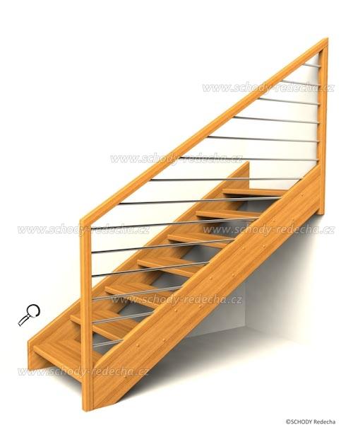 drevene schody IH1
