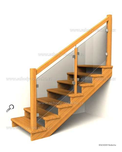 drevene schodiste schody IIA6
