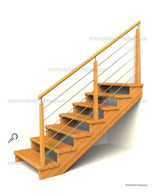 drevene schodiste schody IIC1