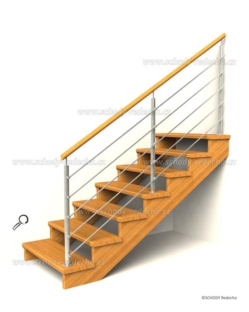 drevene schodiste schody IID1