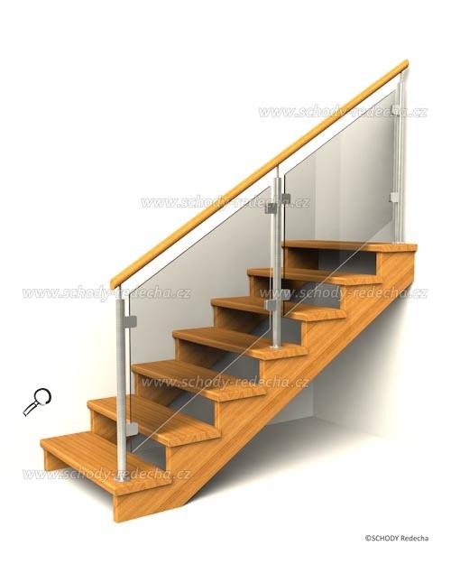drevene schodiste schody IID6