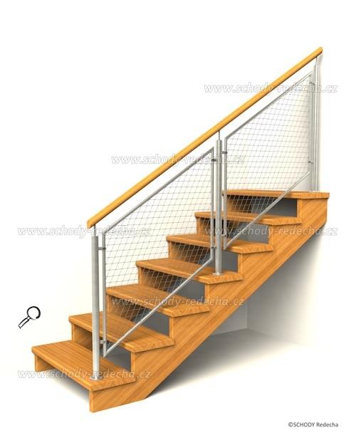 drevene schodiste schody IID8