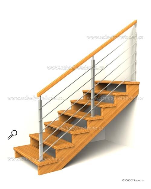 drevene schodiste schody IIJ1