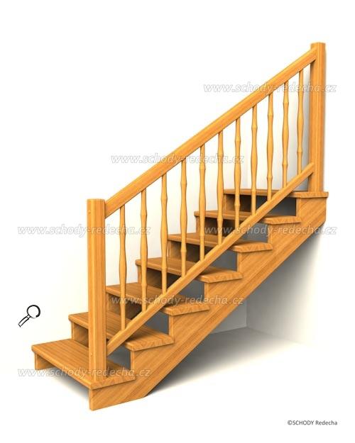 drevene schodiste schody IIsA1