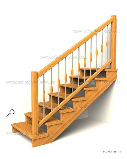 drevene schodiste schody IIsA2