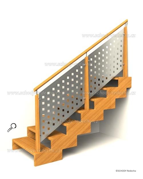 zubate schodisko schody IIIC7