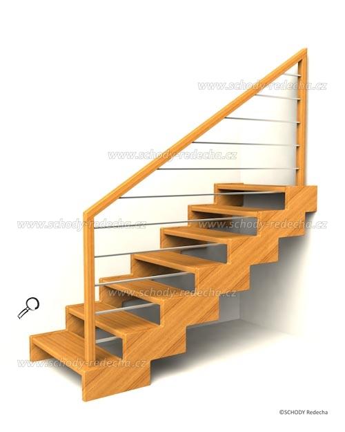 zubate schodisko schody IIIH4