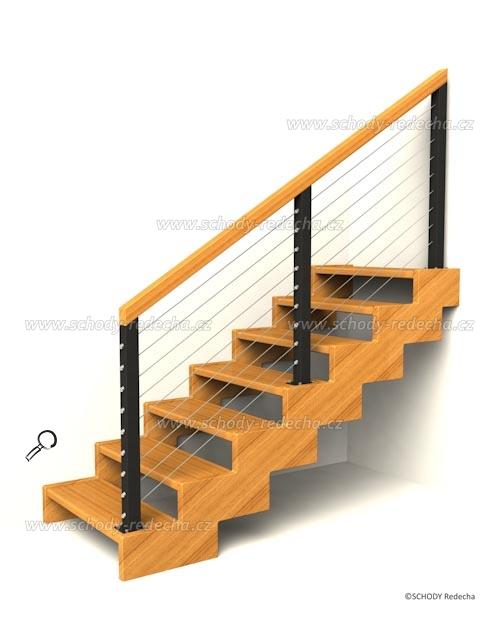 zubate schodisko schody IIIsN