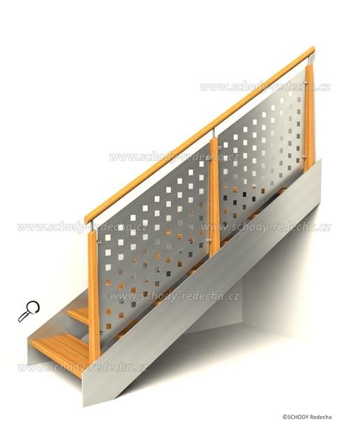 antikora schody IVC7