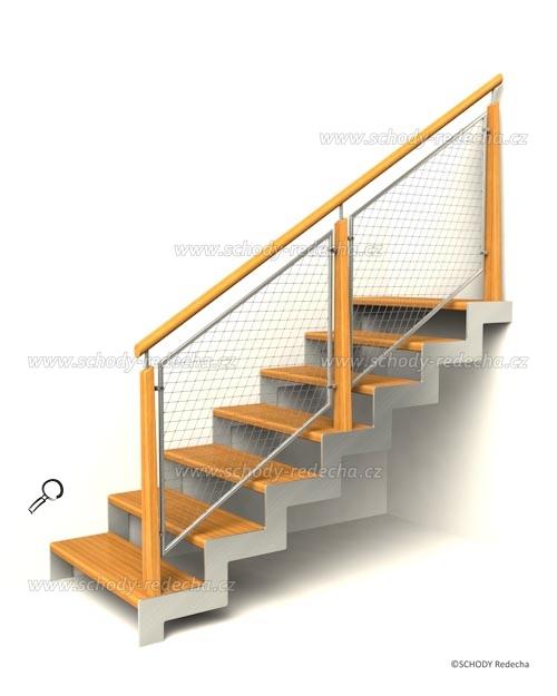 nerezove schody VC8