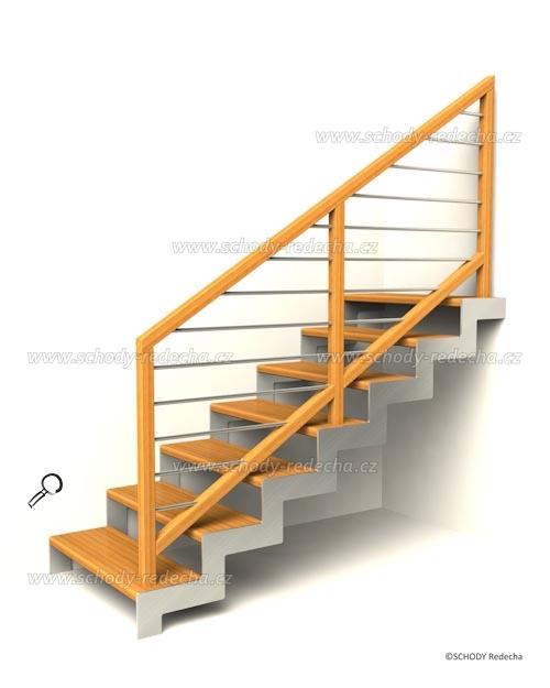 nerezove schody VsH1