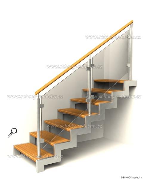 kovove schody VID6