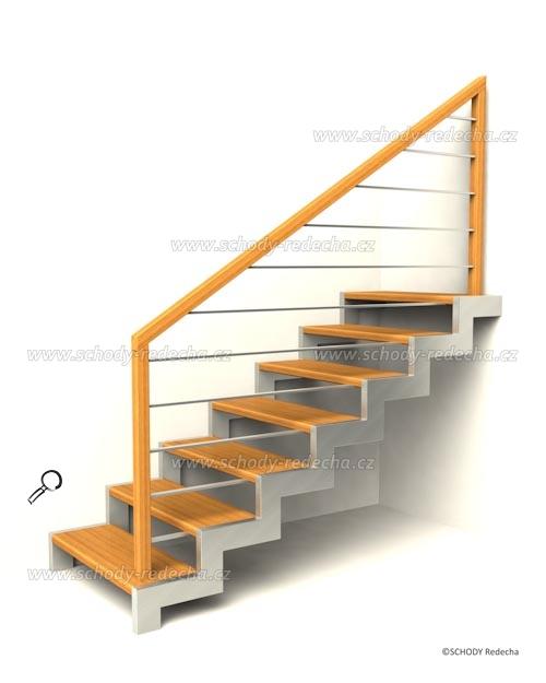 kovove schody VIH4
