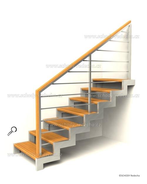 kovove schody VIH5
