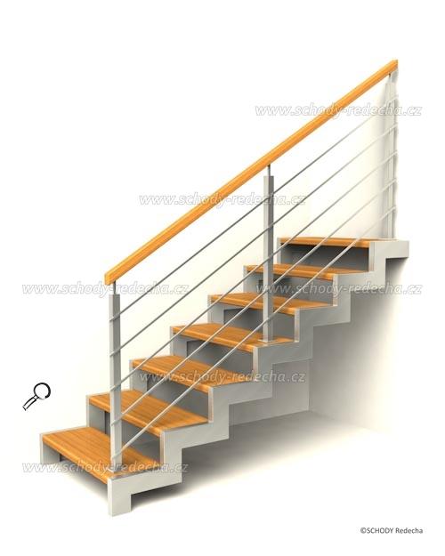 kovove schody VIJ1