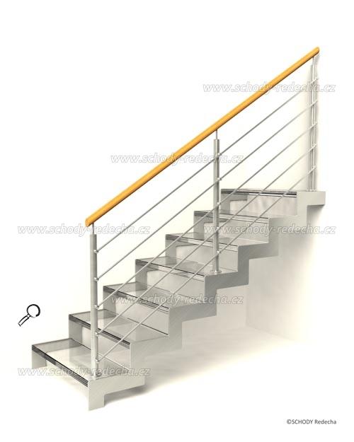 sklo schody VIID1