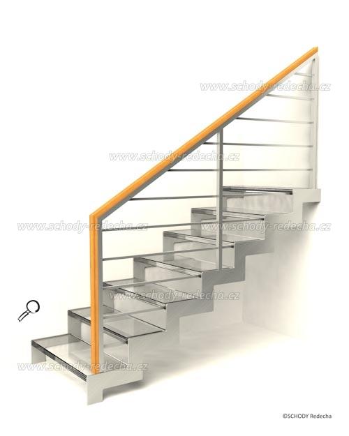sklo schody VIIH5