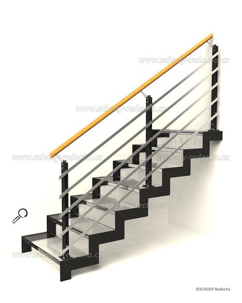 sklo schody VIIM