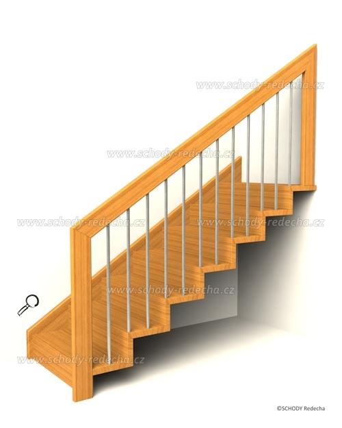zavesne schody IX24p