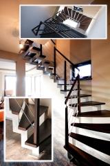 Dřevěné schody ceník