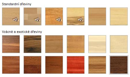 Dřevěné schodiště Vám zhotovíme z klasických dřevin (jako je ...